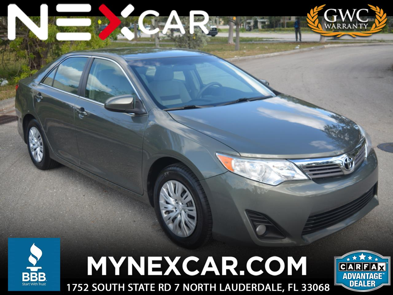 2012 Toyota Camry 4dr Sdn LE Auto (Natl)