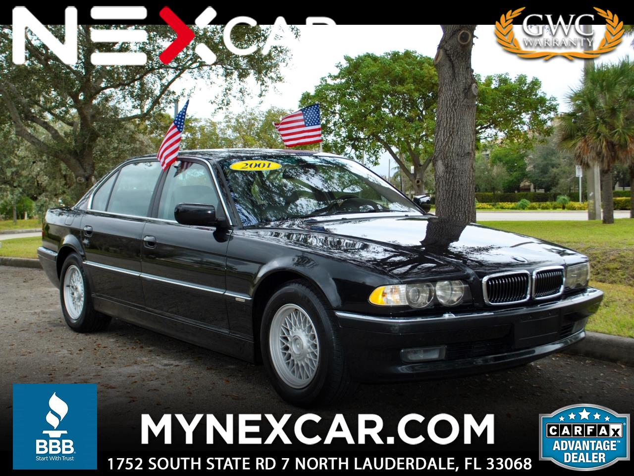 2001 BMW 7 Series 740iL 4dr Sdn