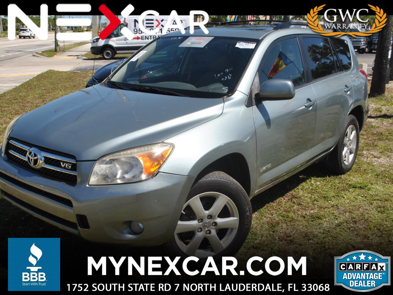 2008 Toyota RAV4 FWD 4dr V6 5-Spd AT Ltd (Natl)