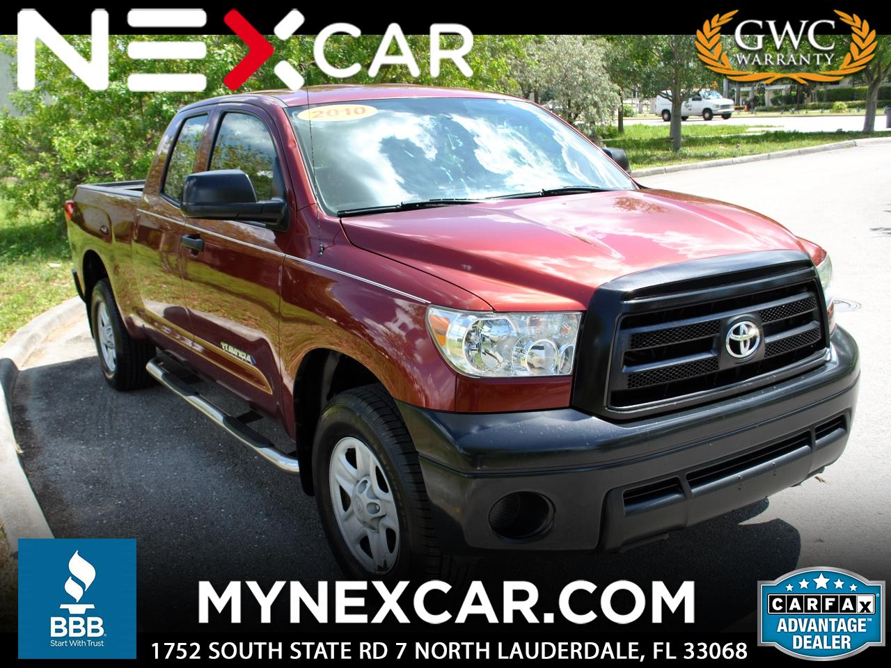 2010 Toyota Tundra 4WD Truck Dbl 4.6L V8 6-Spd AT (Natl)