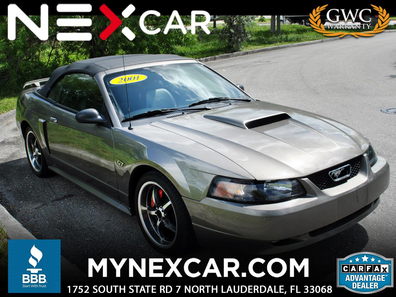 2001 Ford Mustang 2dr Convertible GT Deluxe