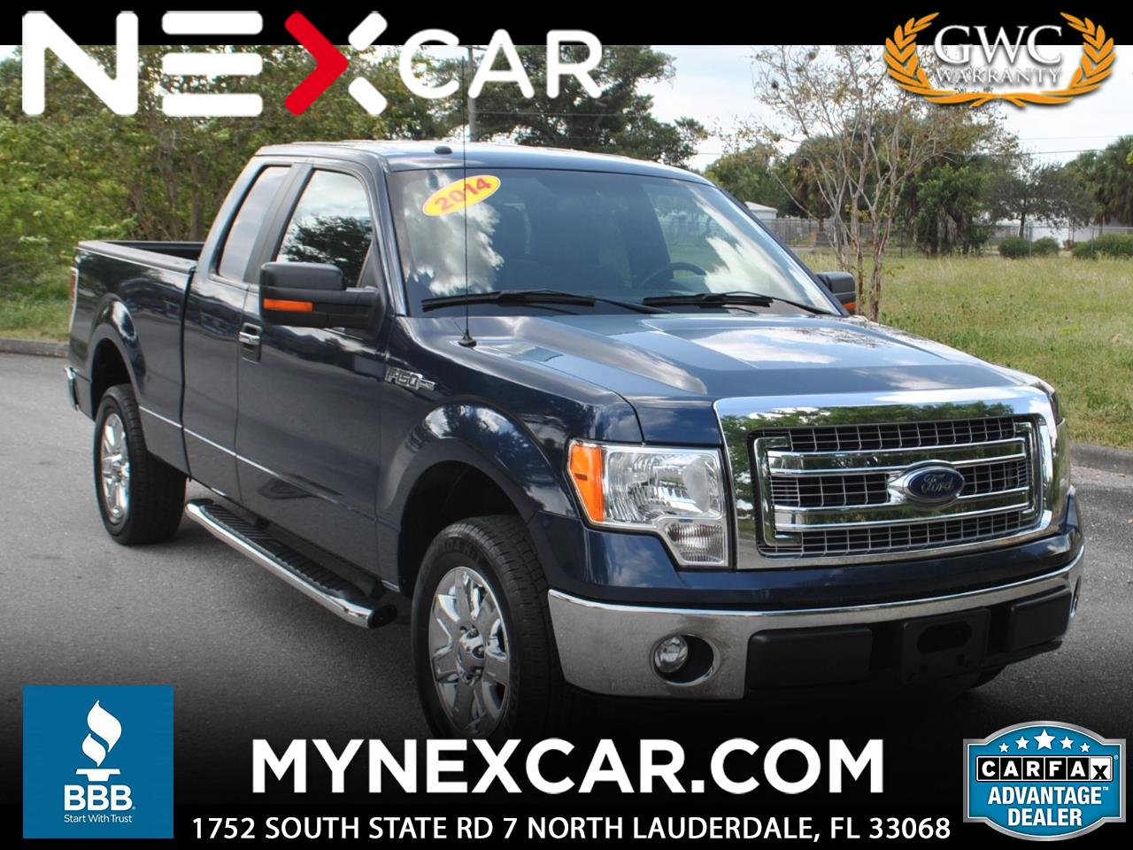 "2014 Ford F-150 2WD SuperCab 145"" XLT"