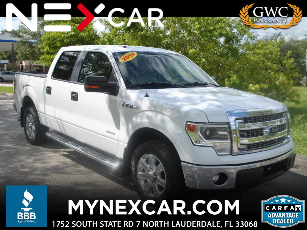 "2014 Ford F-150 2WD SuperCrew 157"" Platinum"
