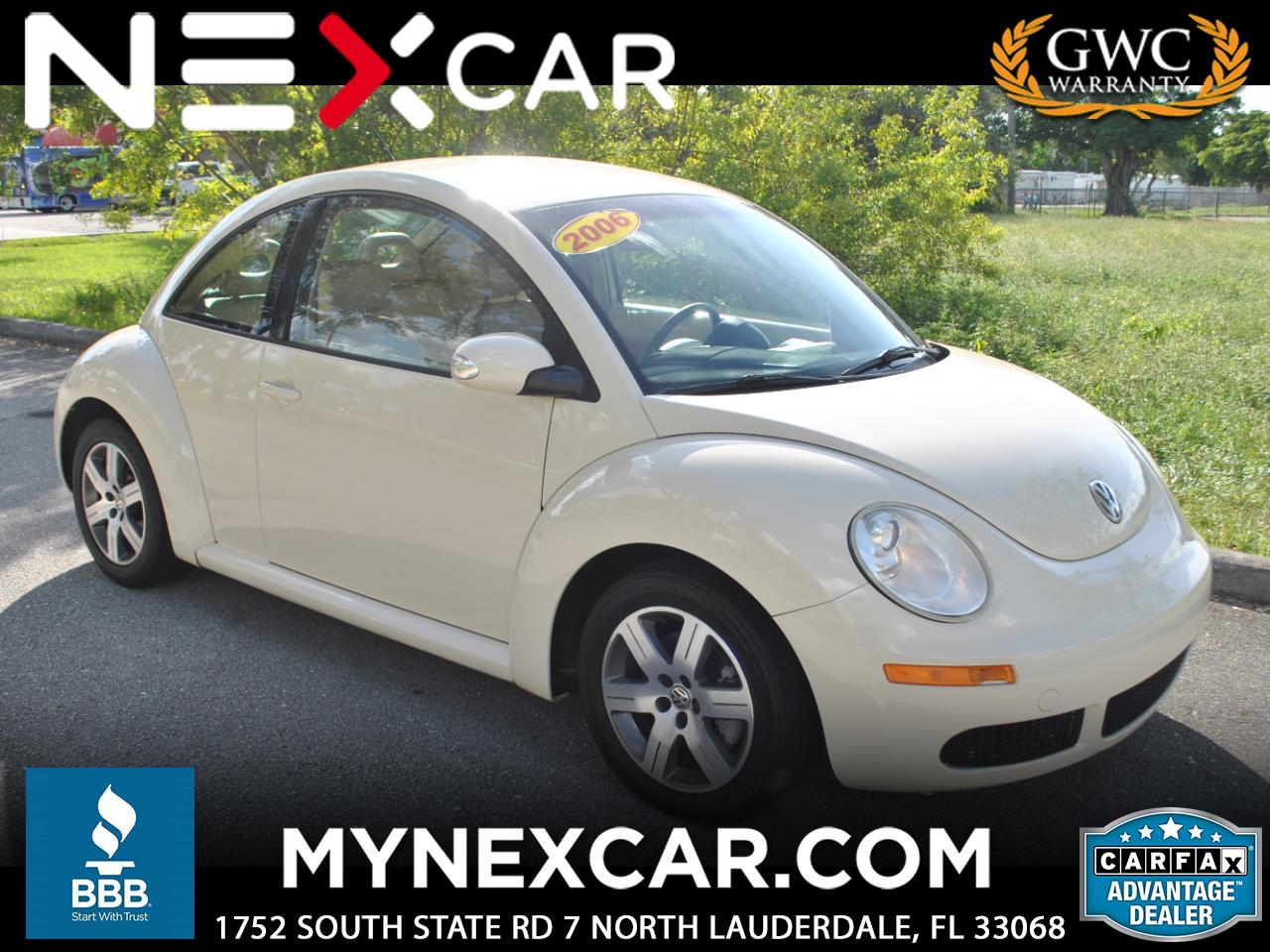 2006 Volkswagen New Beetle Coupe 2dr 2.5L Auto