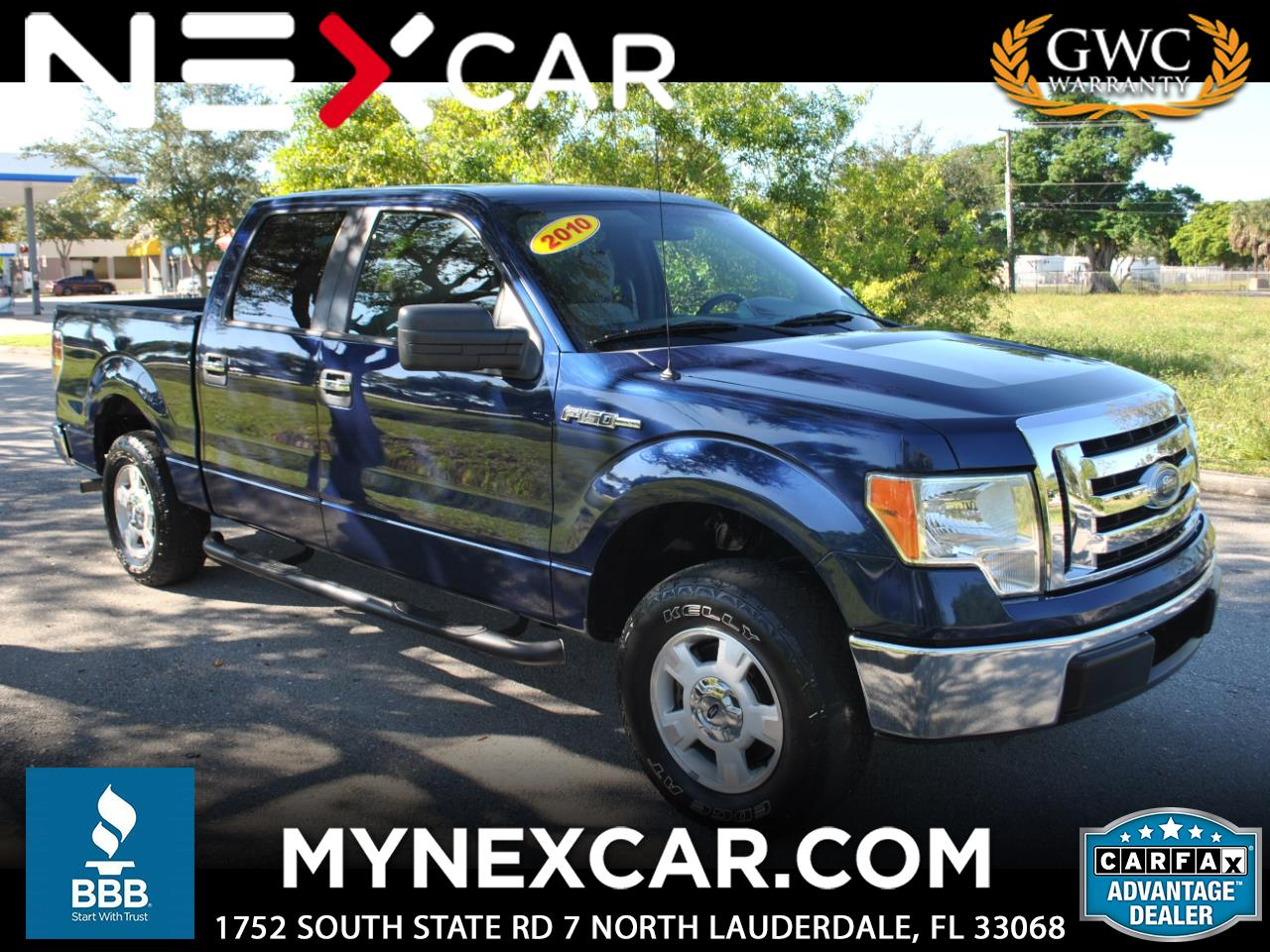 "Ford F-150 2WD SuperCrew 157"" XLT 2010"
