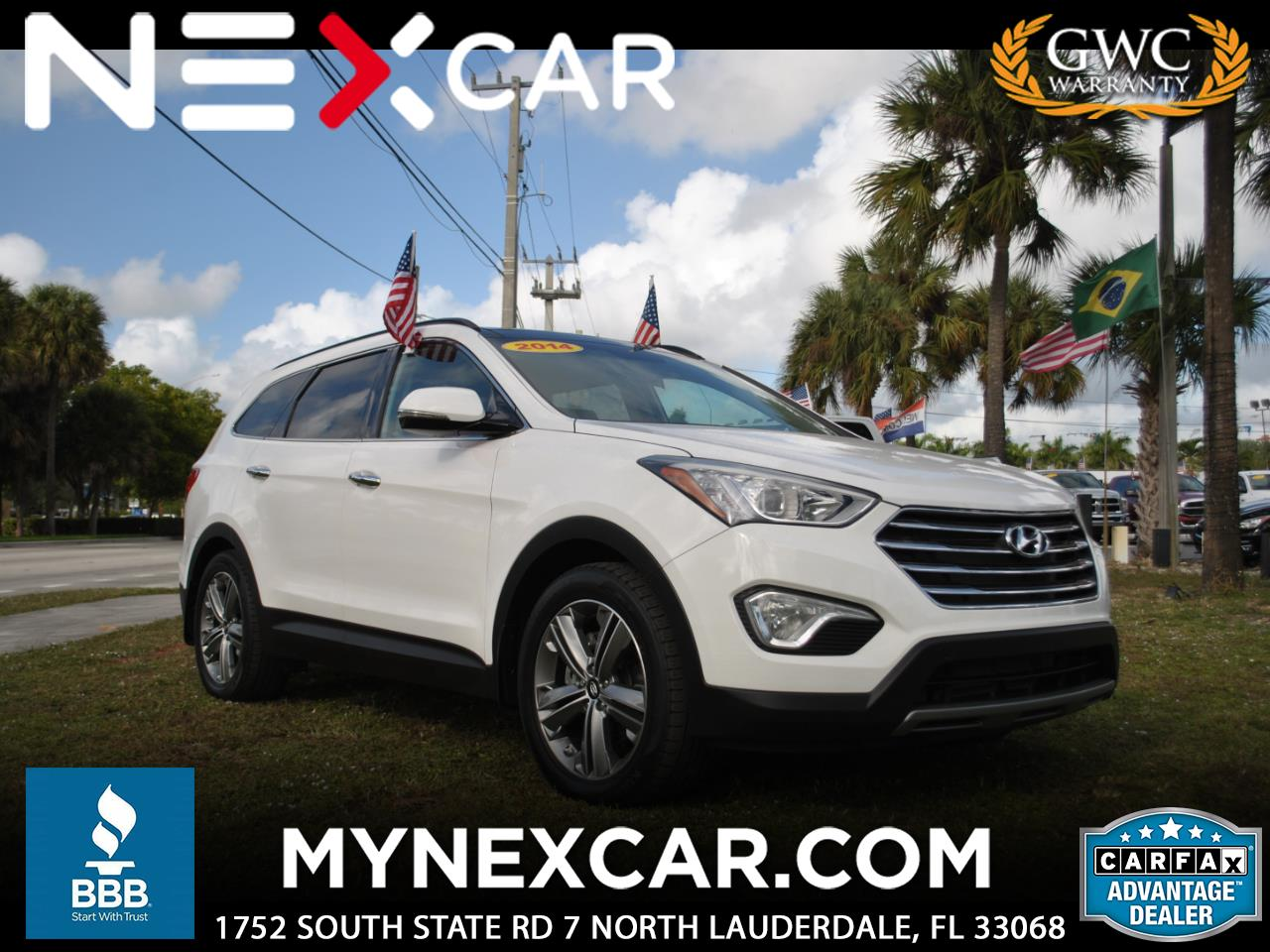 2014 Hyundai Santa Fe FWD 4dr Limited *Ltd Avail*