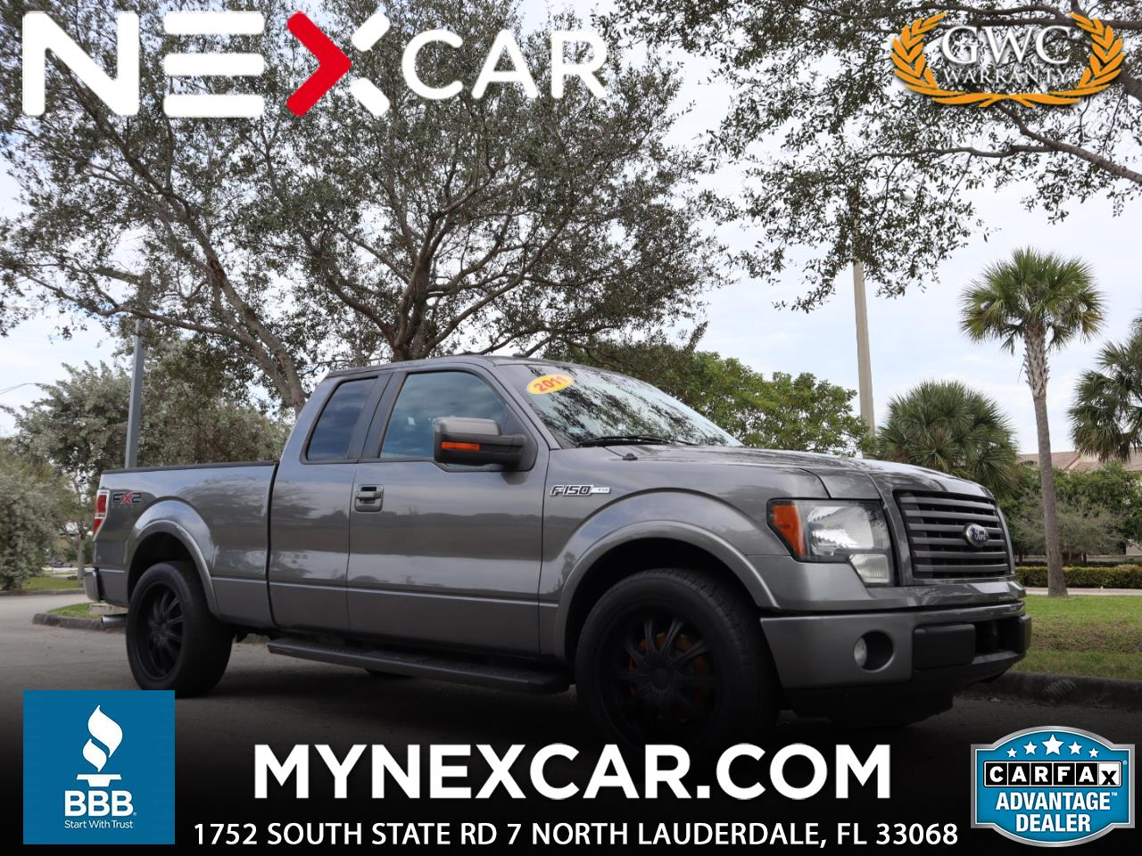 """Ford F-150 2WD SuperCab 145"""" FX2 2011"""