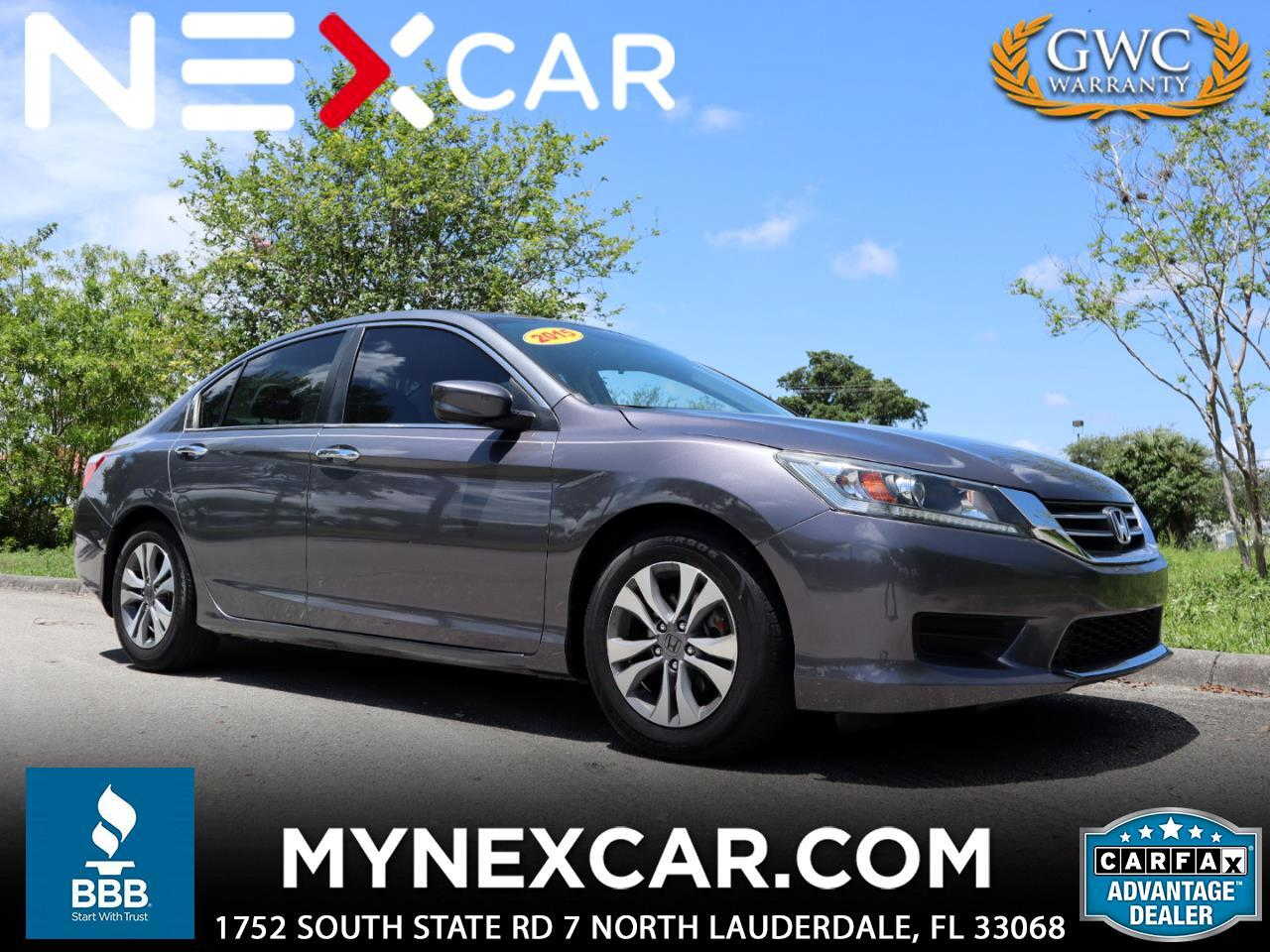 Honda Accord Sedan 4dr I4 CVT LX 2015