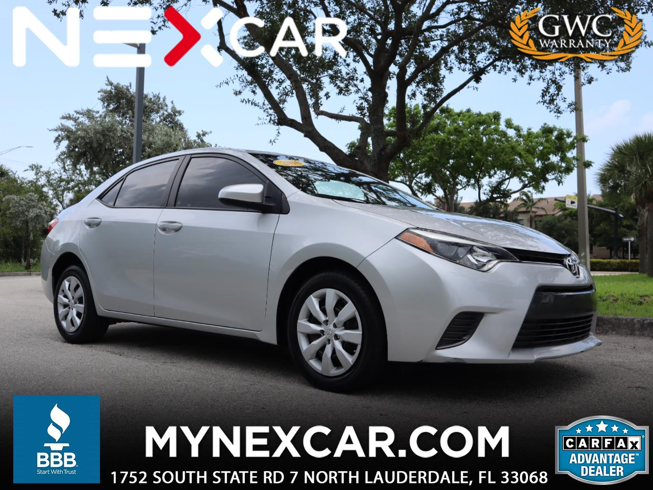 Toyota Corolla 4dr Sdn CVT S w/Special Edition Pkg (Natl) 2016