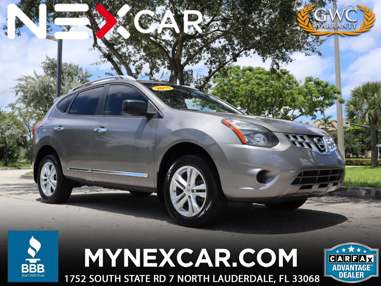 Nissan Rogue Select FWD 4dr S 2015