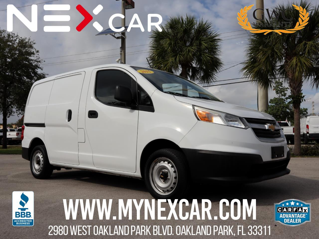Chevrolet City Express Cargo Van  2015