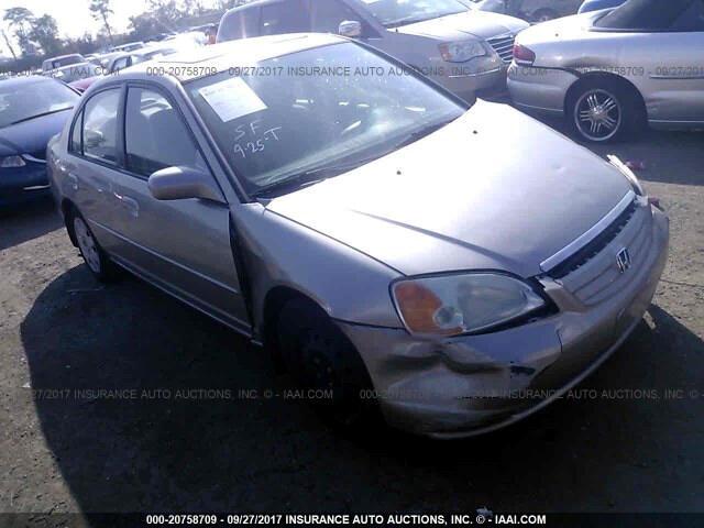 2001 Honda Civic EX sedan