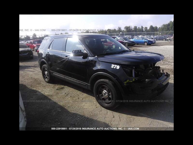 2017 Ford Explorer Police 4WD