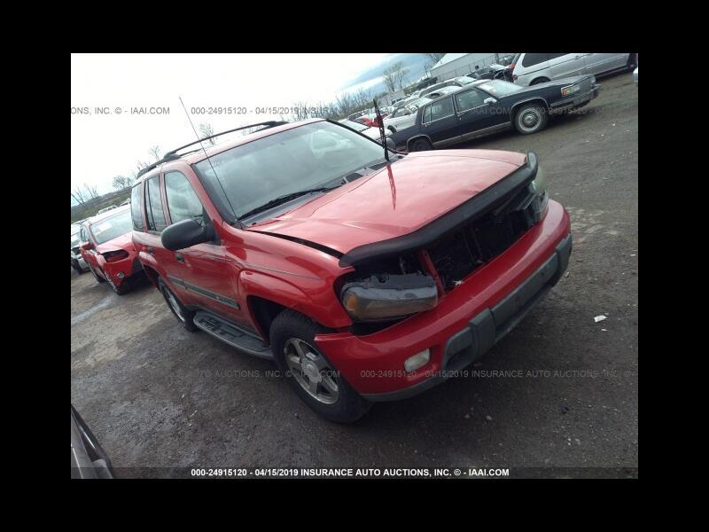 Chevrolet TrailBlazer LS 4WD 2002