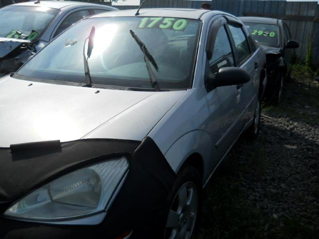 2002 Ford Focus ZTS Mach Audio