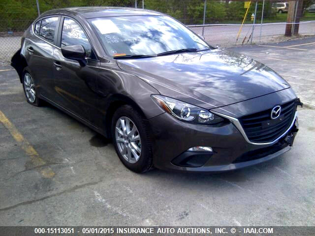 Mazda MAZDA3 i Touring MT 4-Door 2014