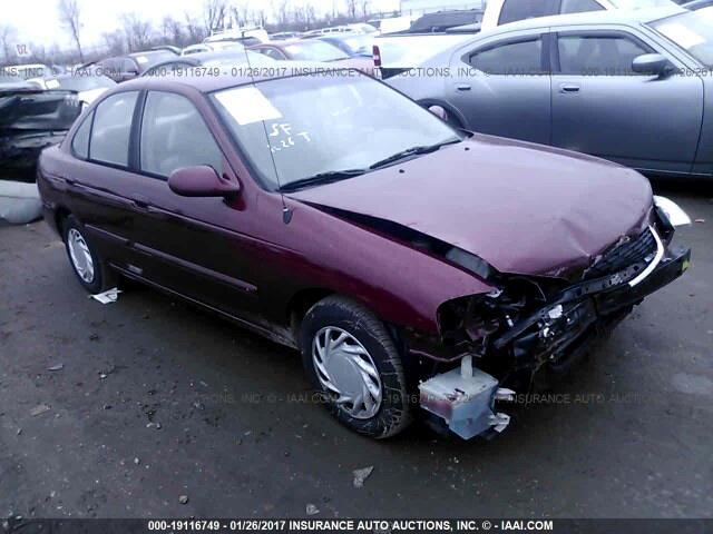 Nissan Sentra XE 2001