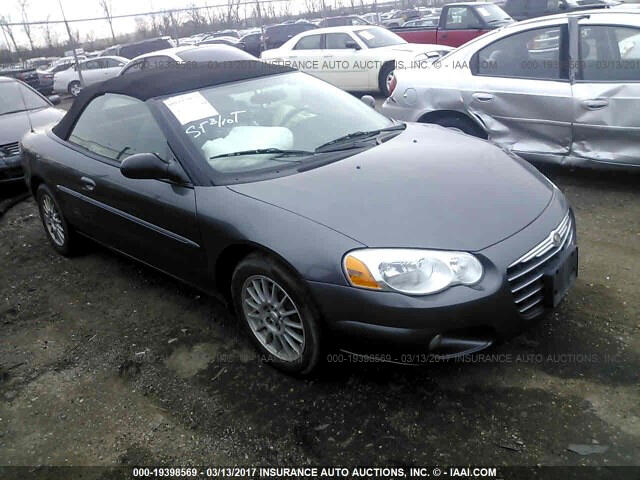 Chrysler Sebring Touring Convertible 2004