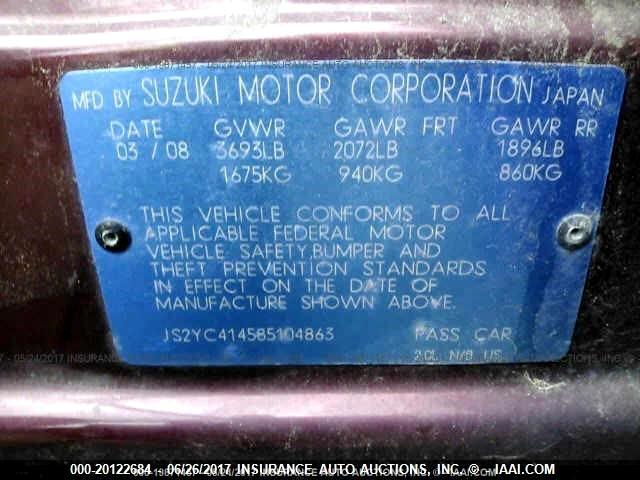 2008 Suzuki SX4 Sport Base