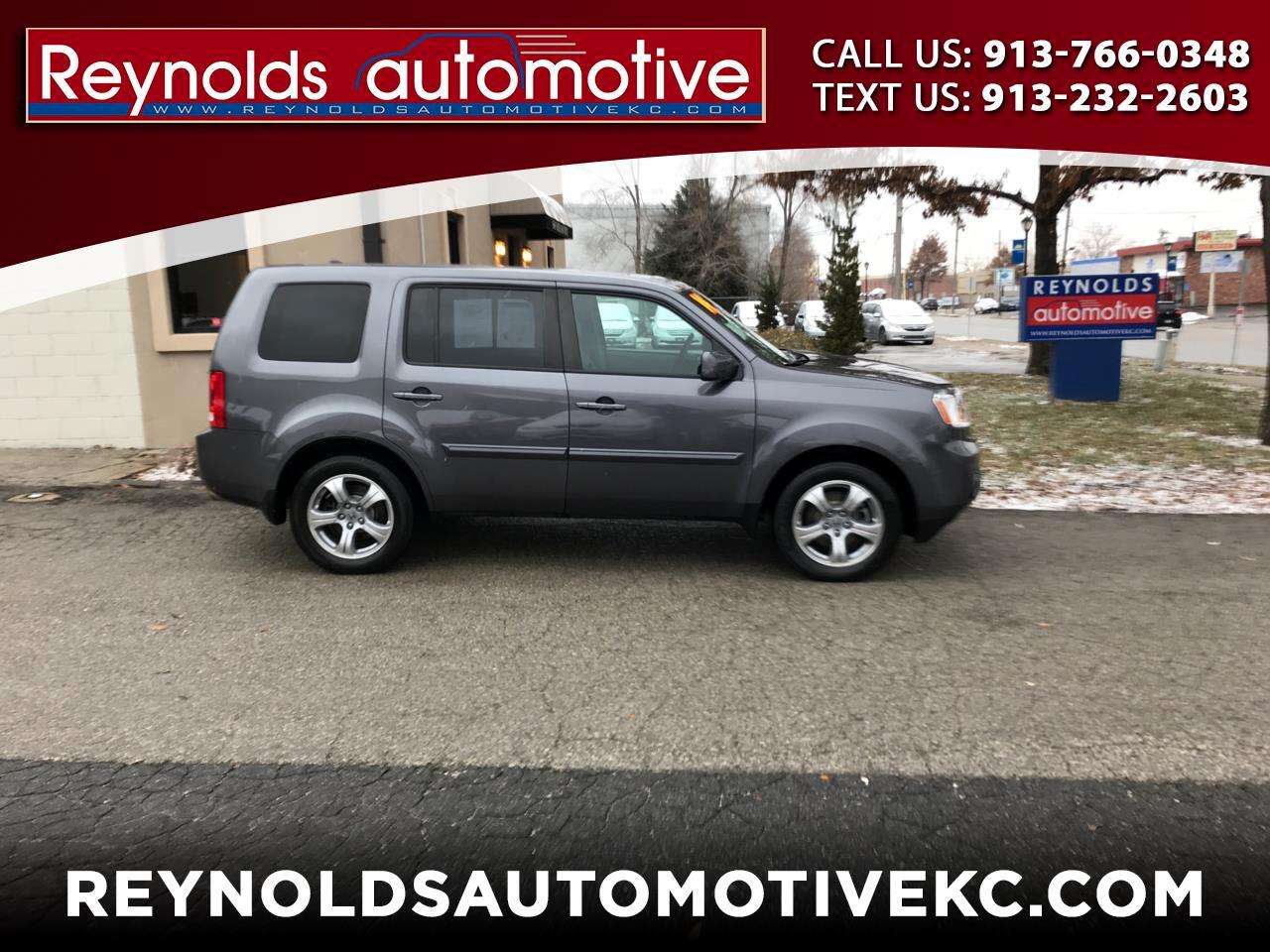 2014 Honda Pilot EX-L 4WD 5-Spd AT with DVD