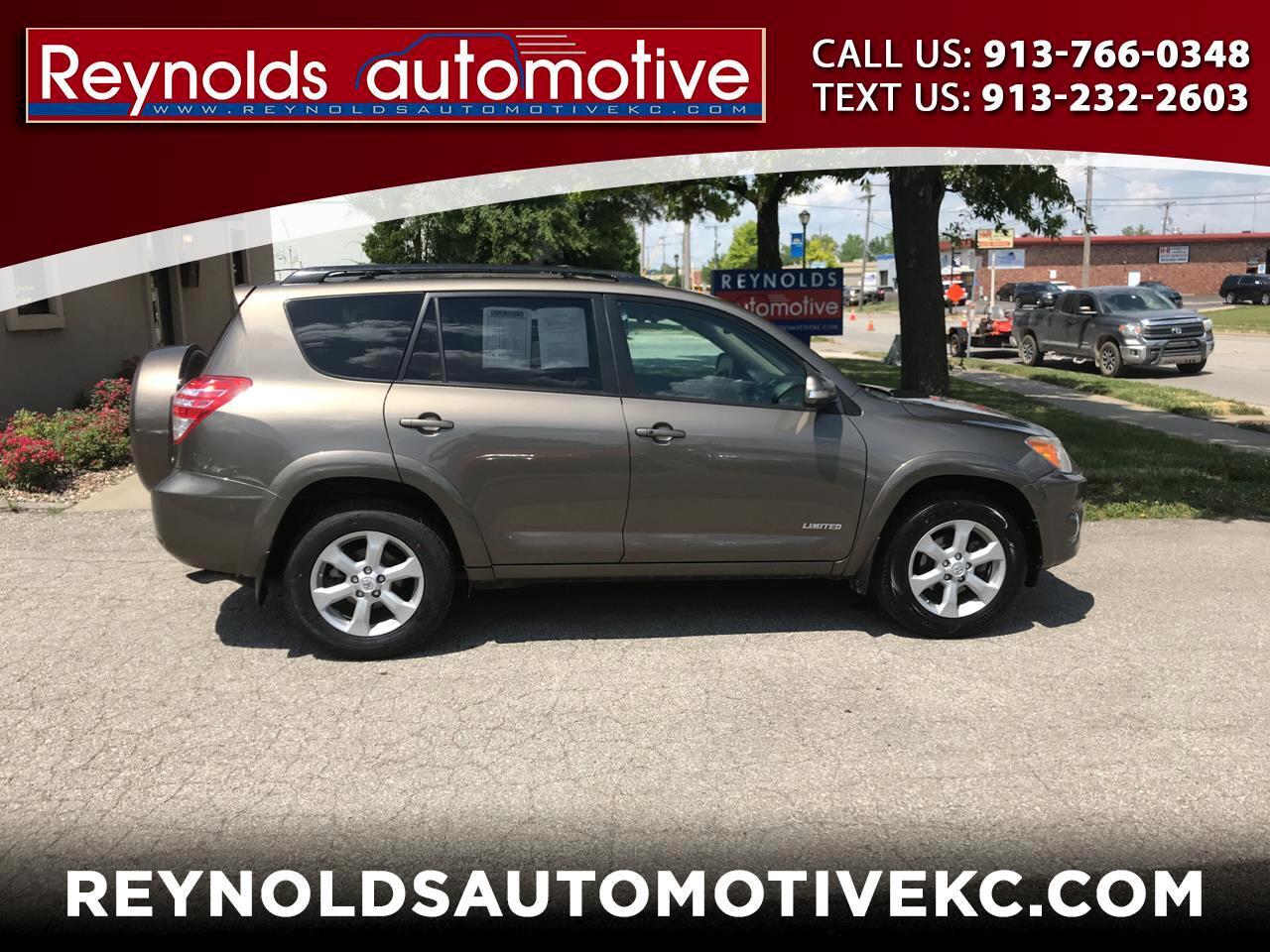 Toyota RAV4 Limited V6 4WD 2011
