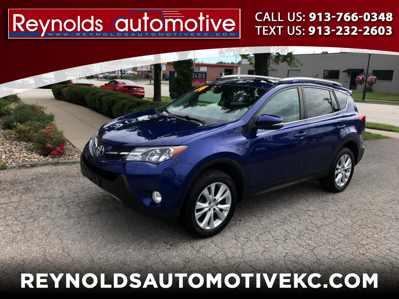 Toyota RAV4 Limited AWD 2014