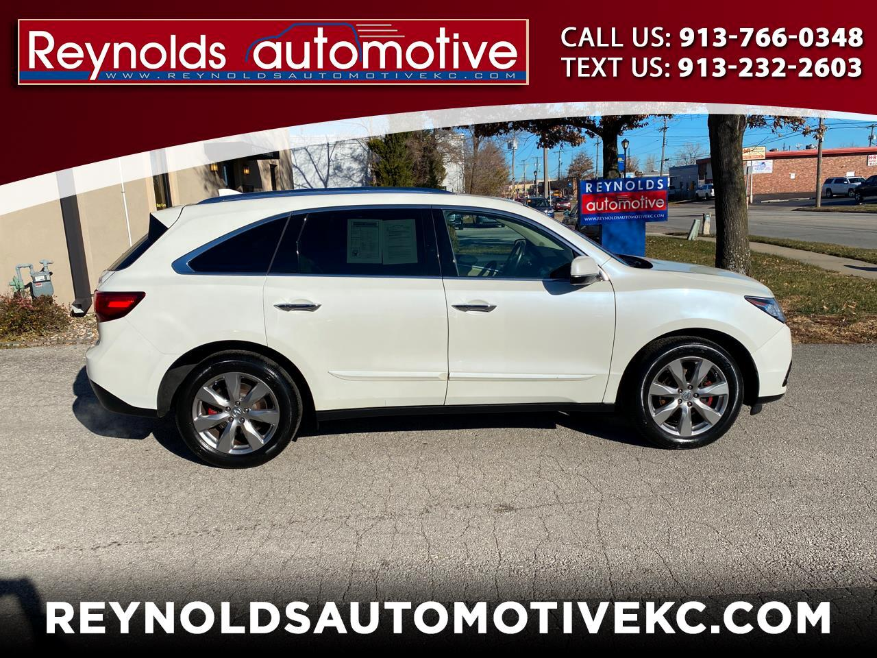 Acura MDX SH-AWD 6-Spd AT w/Advance Package 2015