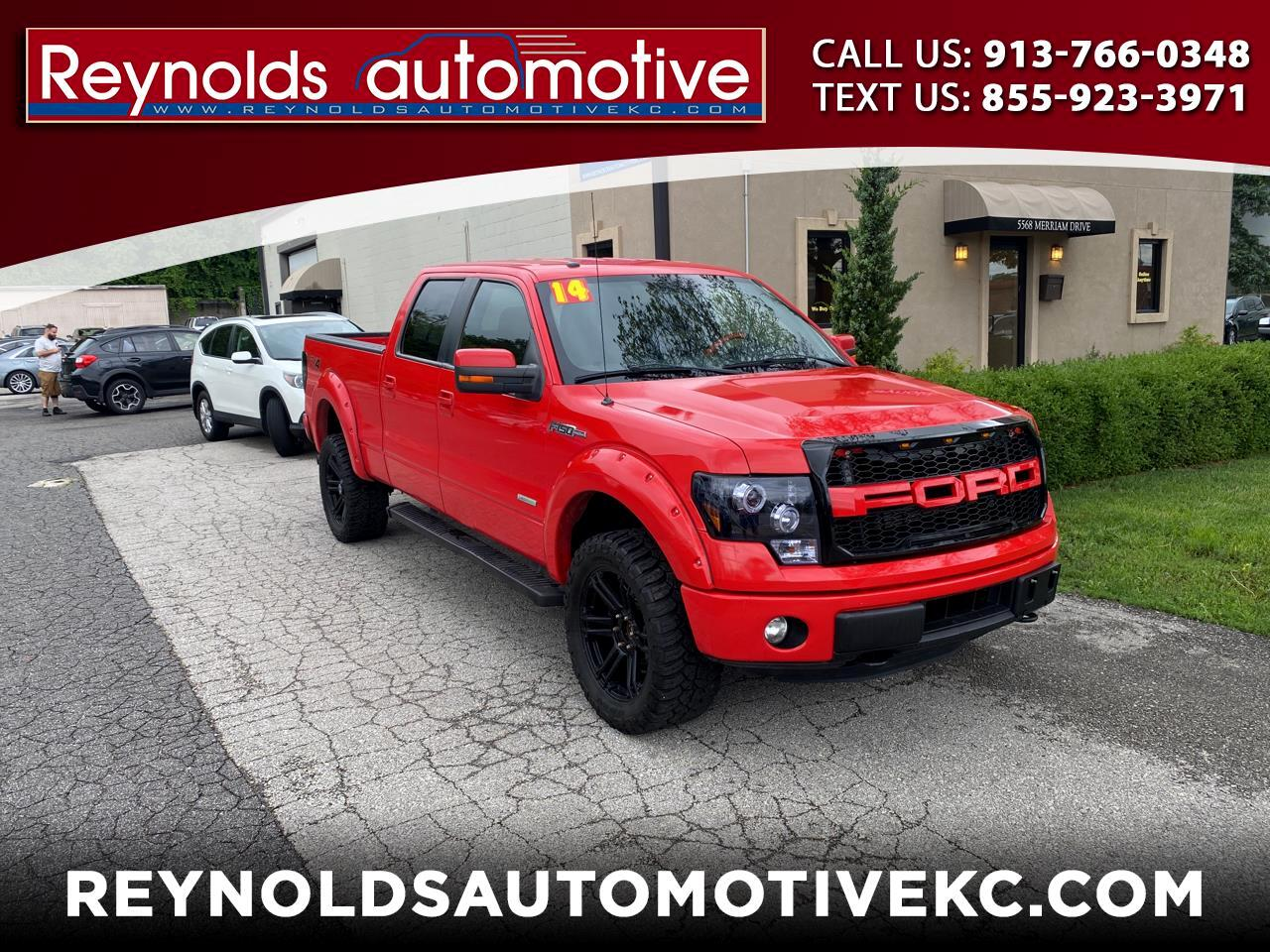 Ford F-150 FX4 SuperCrew 6.5-ft. Bed Flareside 4WD 2014