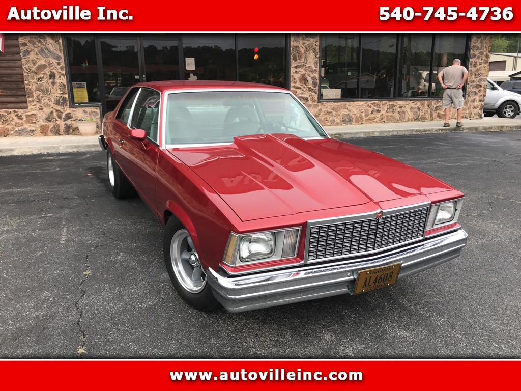 1978 Chevrolet Malibu 2 Dr Coupe