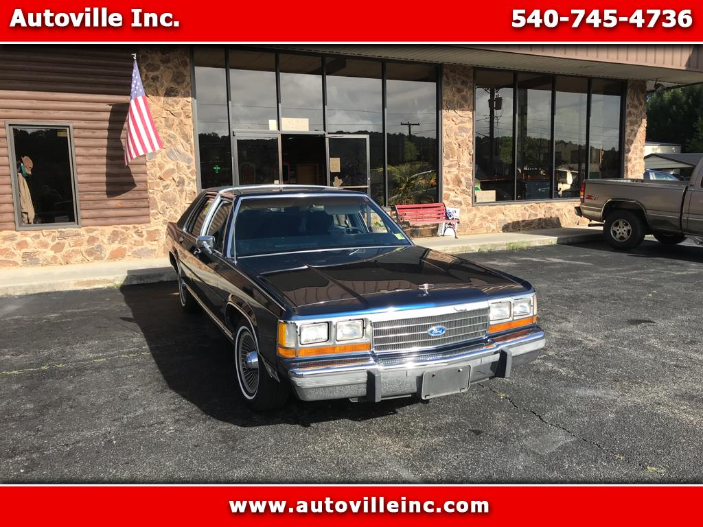 1989 Ford Crown Victoria LX