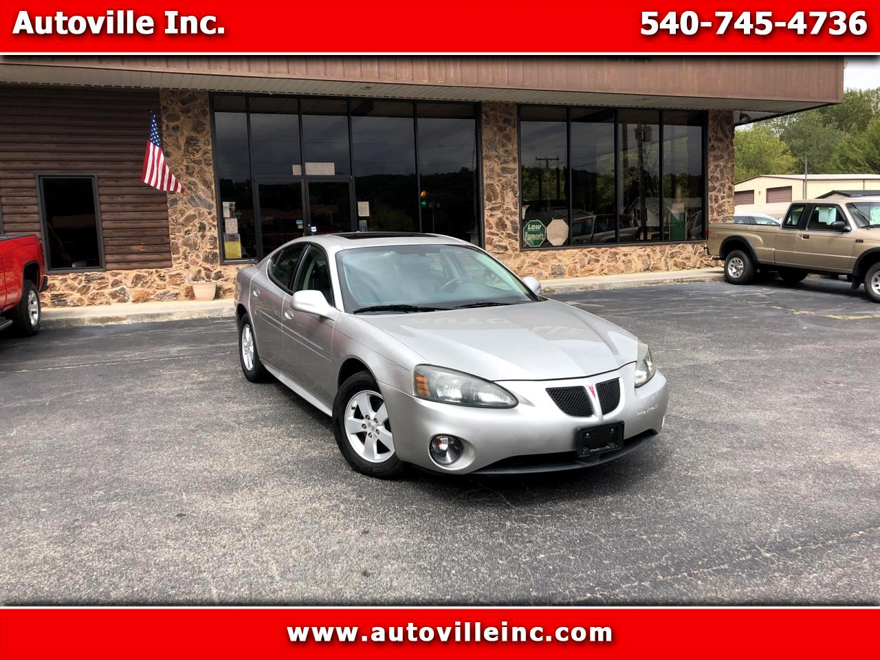 Pontiac Grand Prix Sedan 2008