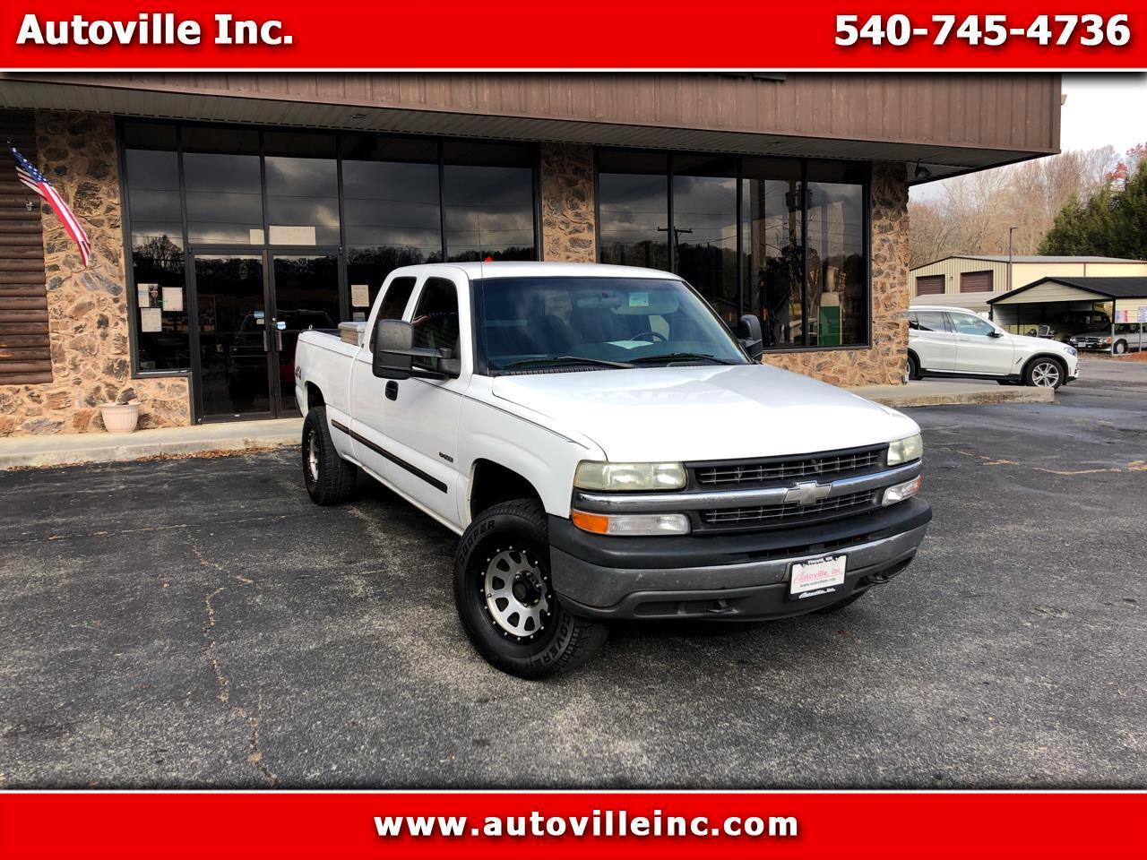 Chevrolet Silverado 1500 Work Truck Ext. Cab 4WD 2002