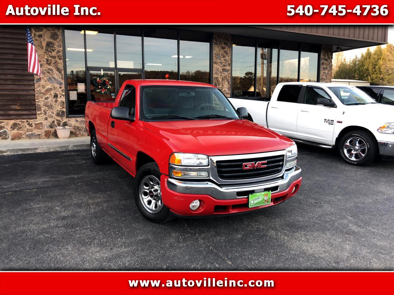 GMC Sierra 1500 Long Bed 2WD 2005