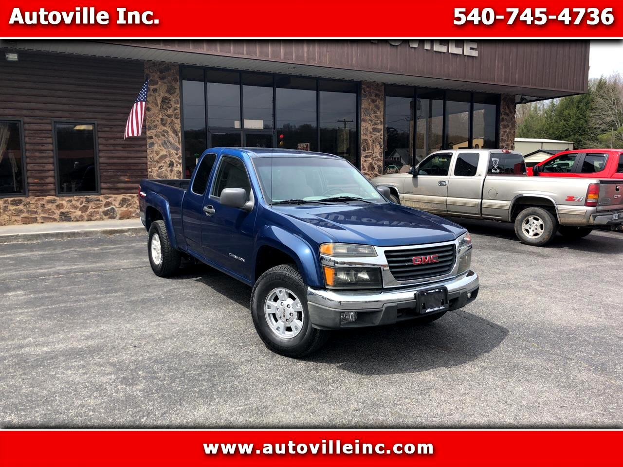 GMC Canyon SL Z71 Ext. Cab 4WD 2005