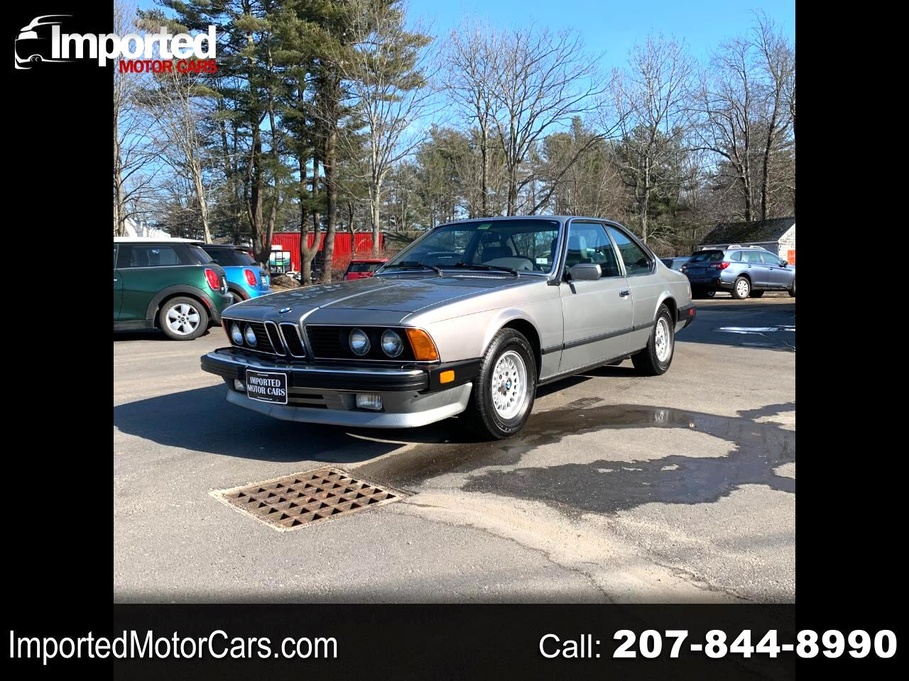 BMW 6-Series 635CSI automatic 1987