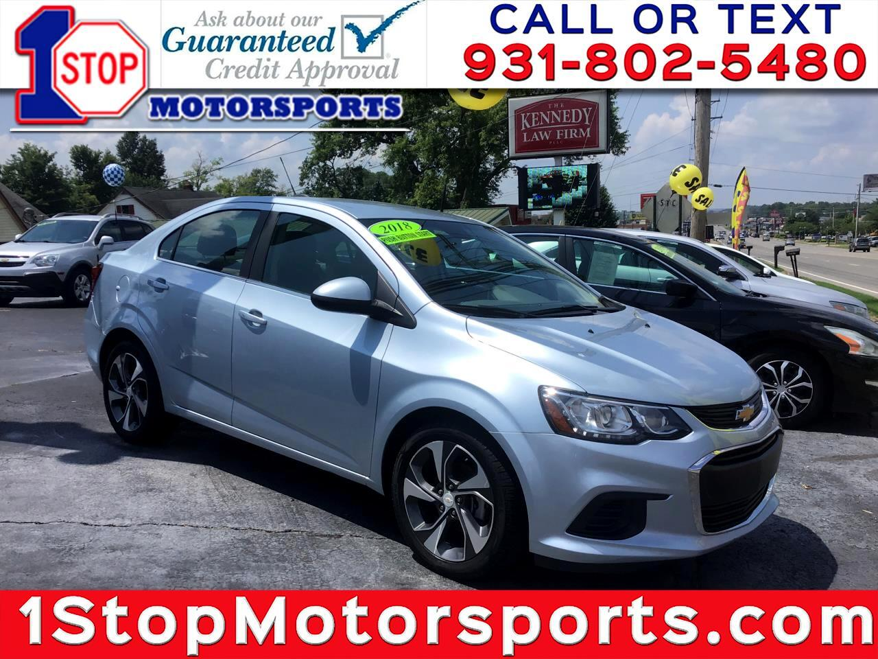 Chevrolet Sonic Premier Auto Sedan 2018