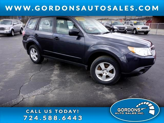 2011 Subaru Forester 4dr Man 2.5X w/Alloy Wheel Value Pkg