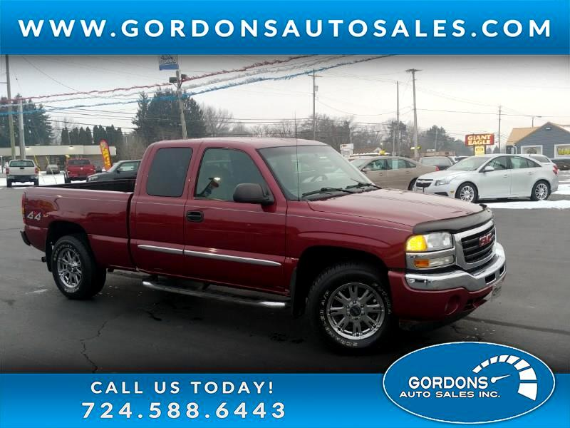 2006 GMC Sierra 1500 Extended Cab 4WD