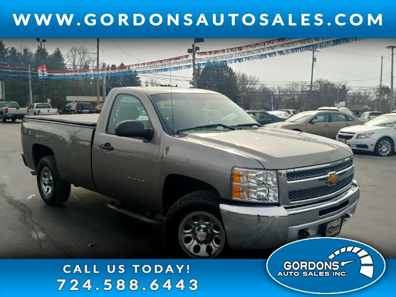 2013 Chevrolet Silverado 1500 Long Box 4WD