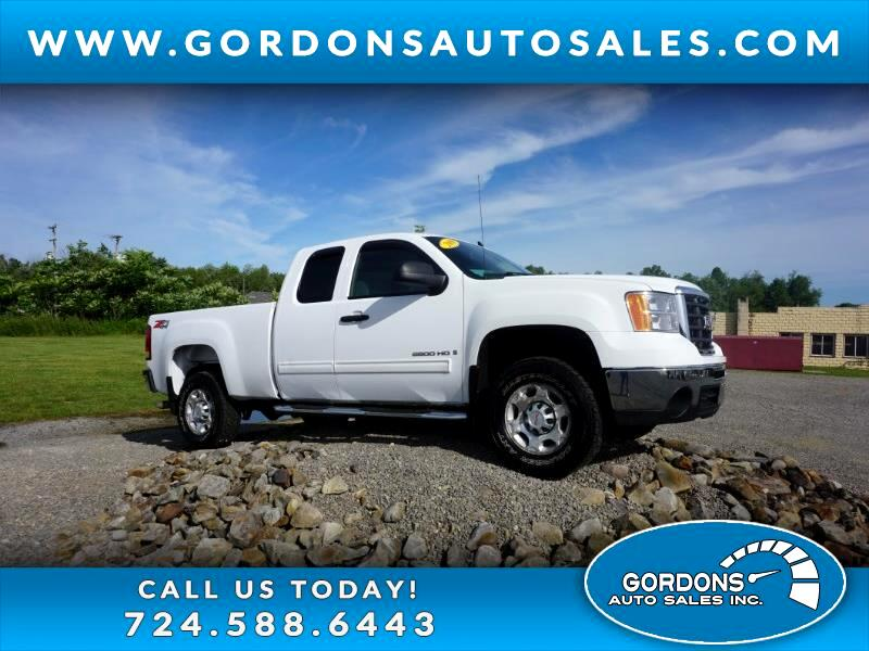 2009 GMC Sierra 2500HD Extended Cab SLE  4WD