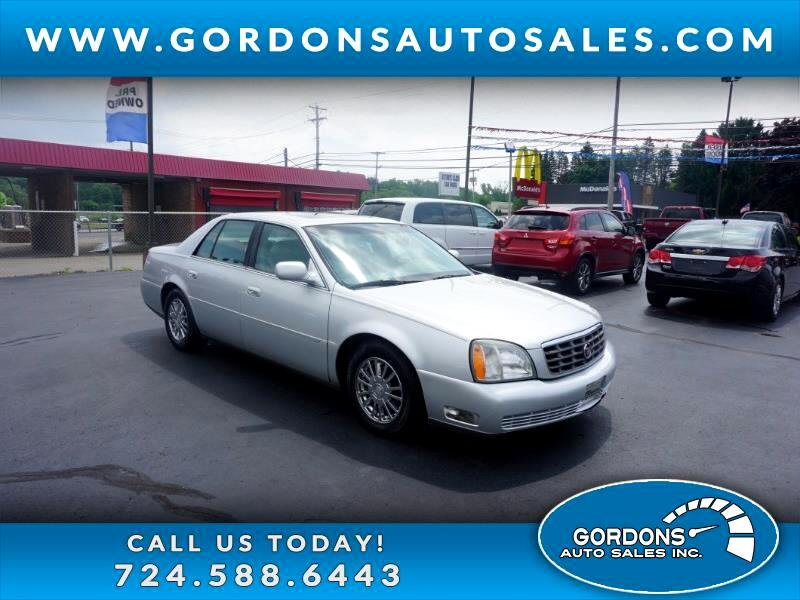 2003 Cadillac DeVille 4dr Sdn DHS