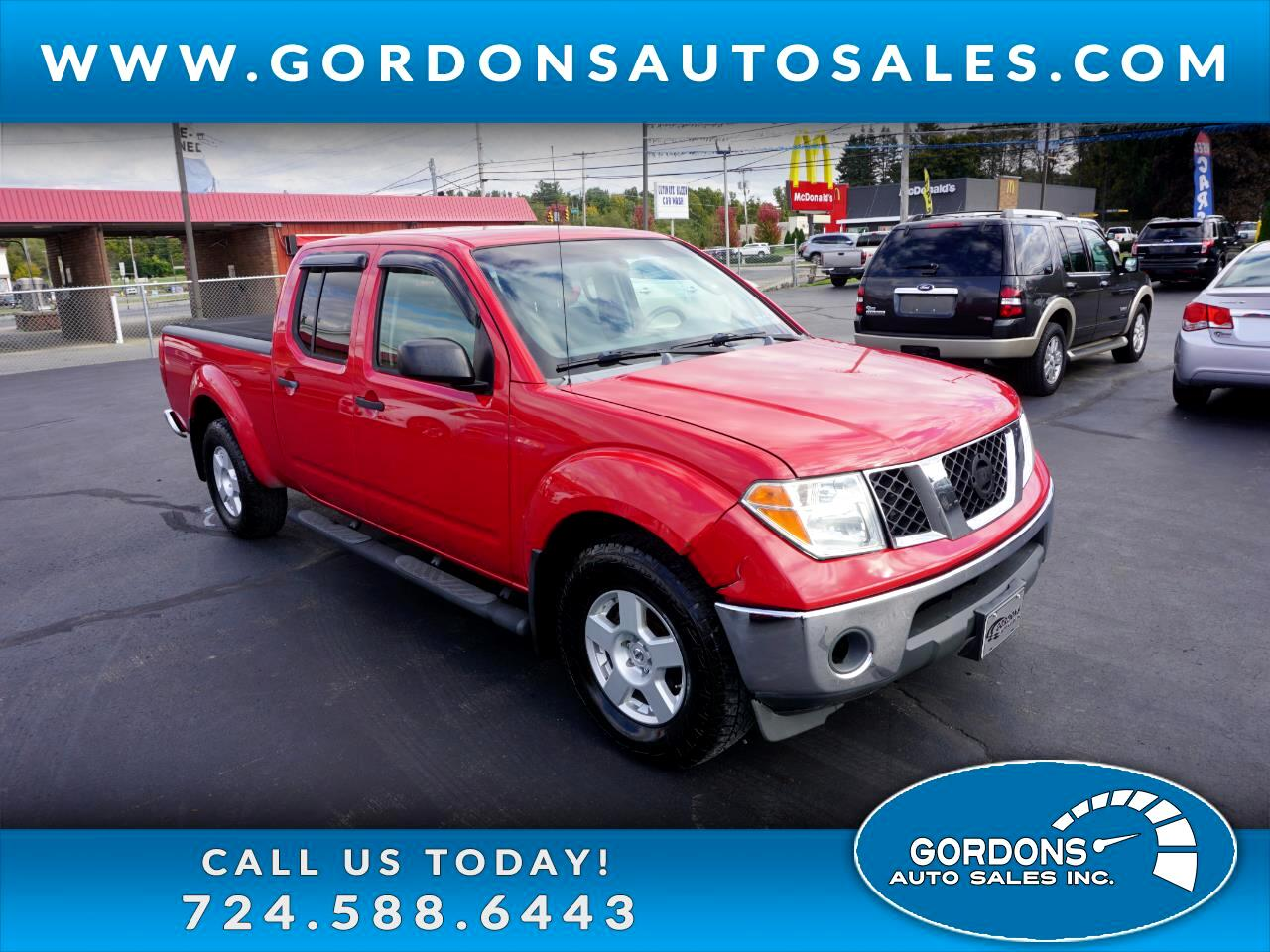Nissan Frontier 4WD Crew Cab LWB Auto SE *Late Avai 2007