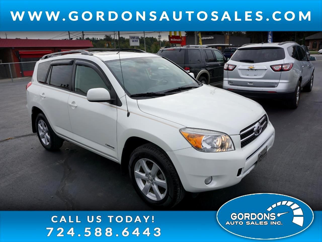 Toyota RAV4 Limited AWD 2007