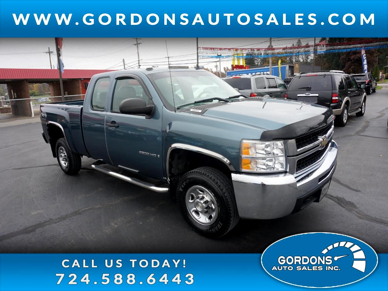 2008 Chevrolet Silverado 2500HD Ext Cab 143.5