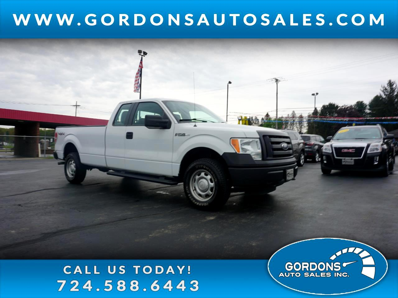 "Ford F-150 4WD SuperCab 163"" XL w/HD Payload Pkg 2012"