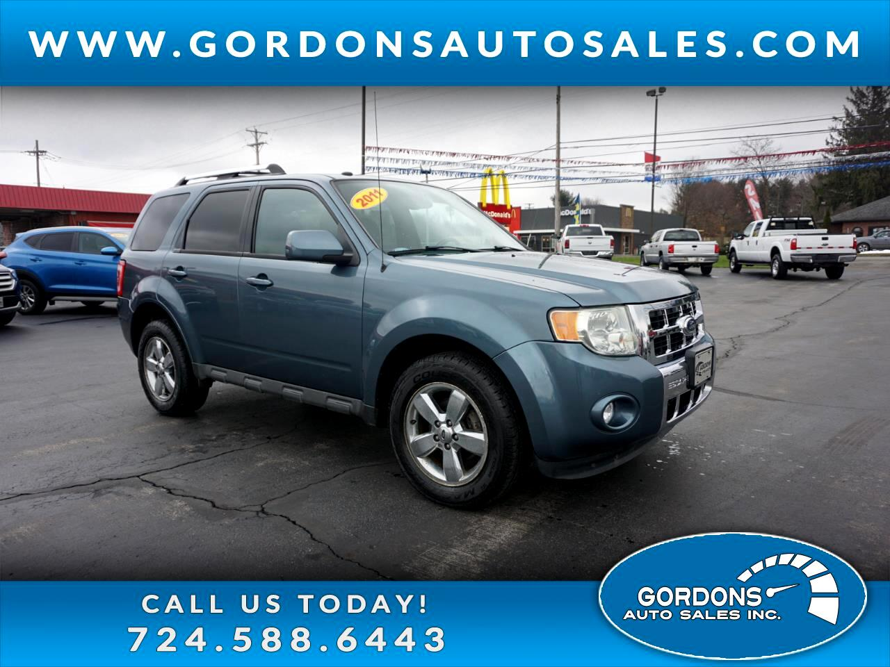 Ford Escape 4WD 4dr Limited 2011