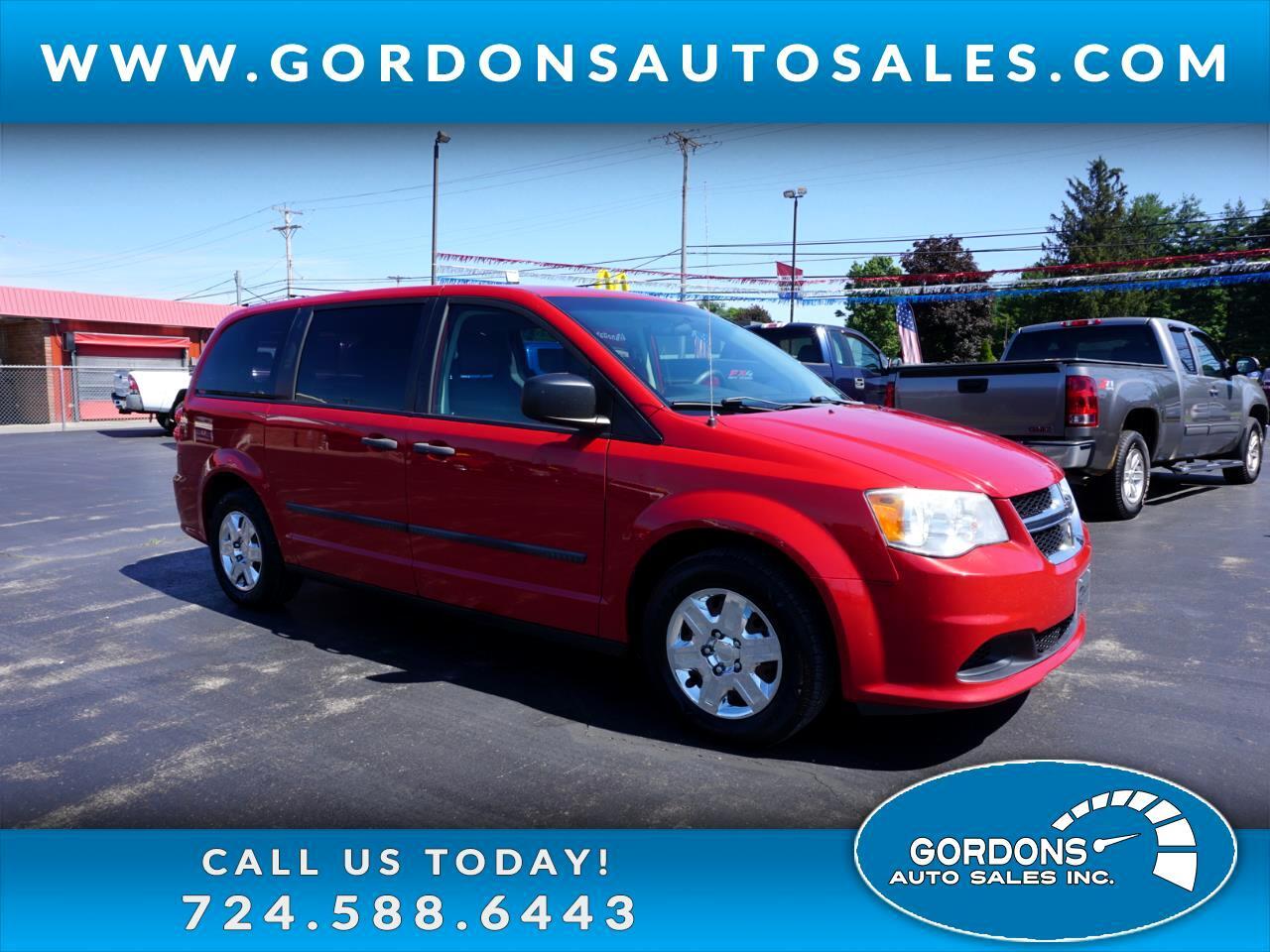 Dodge Grand Caravan 4dr Wgn American Value Pkg 2012