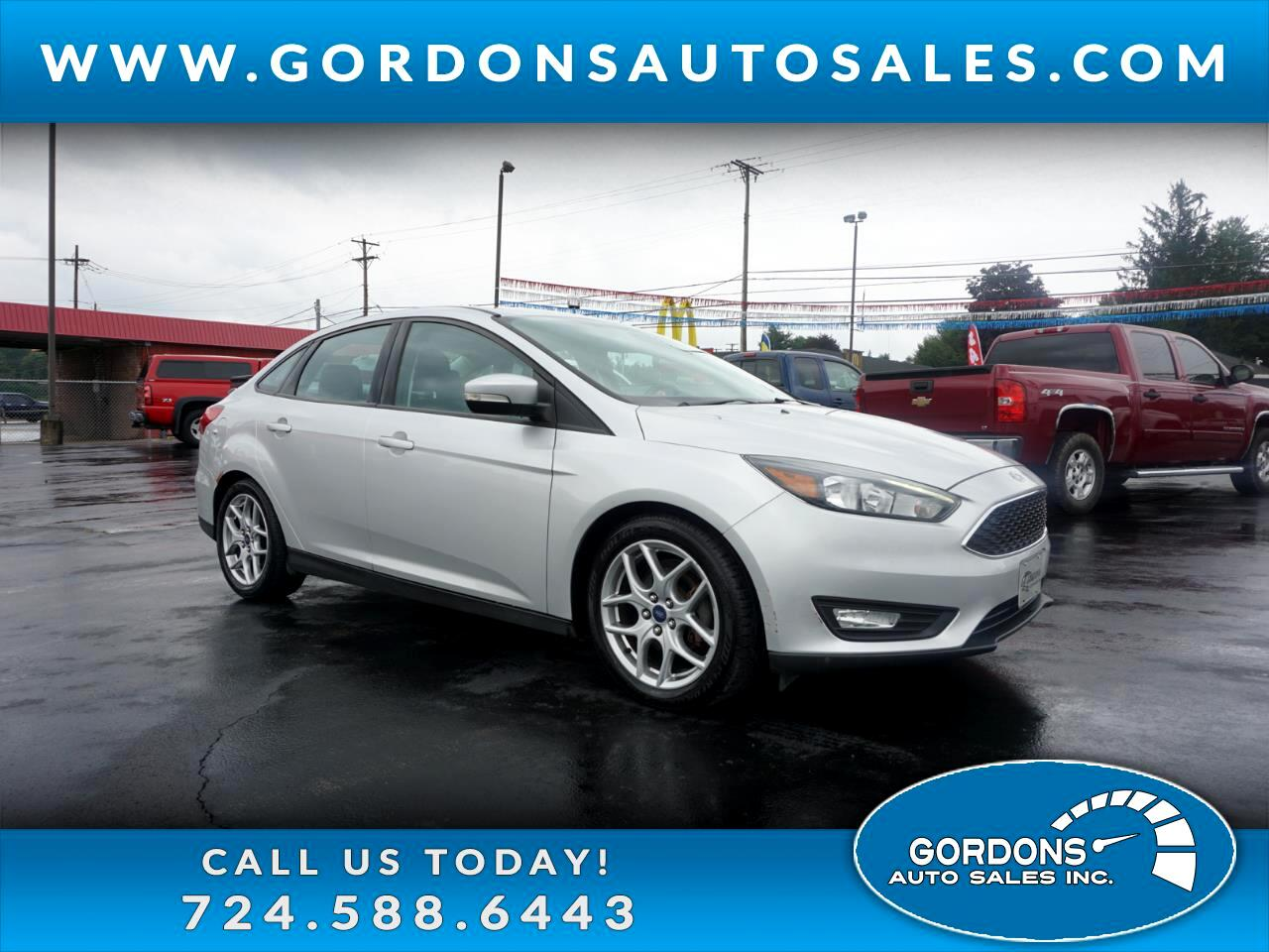 Ford Focus 4dr Sdn SE 2015