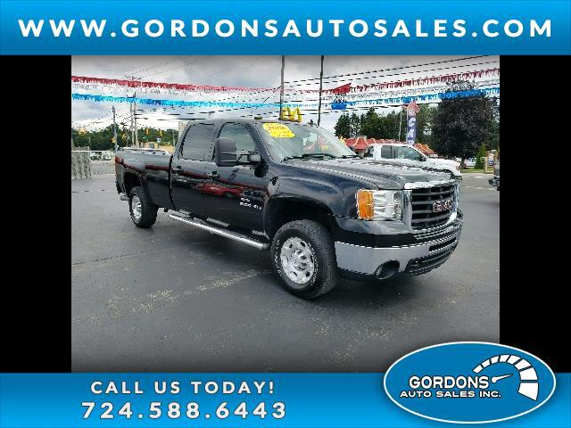 2008 GMC Sierra 2500HD SLT Crew Cab Long Box 4WD