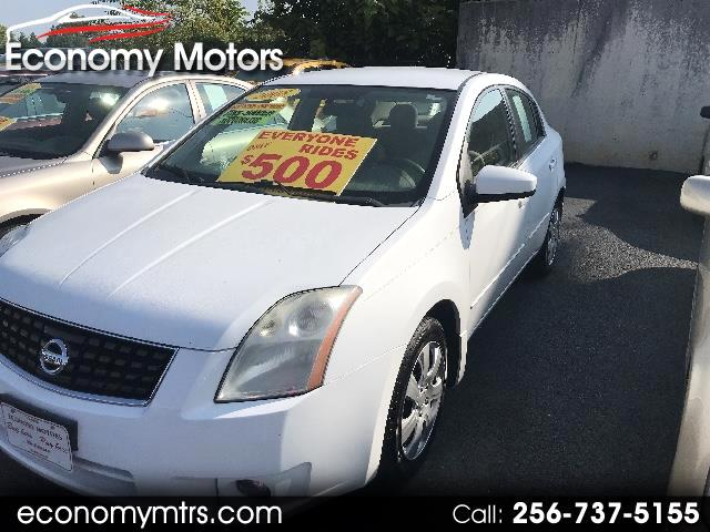 buy here pay here 2008 nissan sentra 2 0 s for sale in cullman al 35055 economy motors. Black Bedroom Furniture Sets. Home Design Ideas